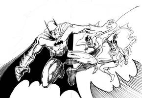 Batman by hakantacal