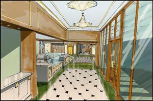 corridor by hakantacal