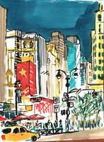 NY sketches 5 by hakantacal
