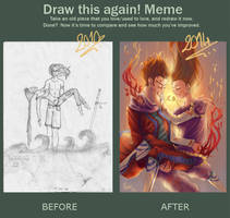 Before-After meme by K-wuet