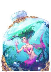 Mermaid Rhapsody by K-wuet