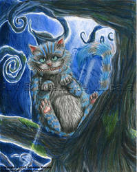 Cheshire Cat by TheDragonofDoom