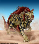 Feline Creature Concept by TheDragonofDoom