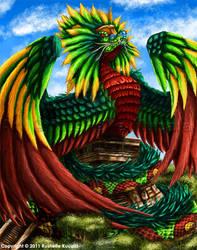 Quetzalcoatl by TheDragonofDoom