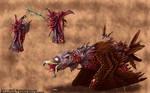 EXM: Mutant Range Bird by TheDragonofDoom