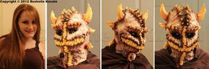 Demon Mask by TheDragonofDoom