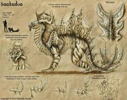 Bestiary: Baakudoa by TheDragonofDoom