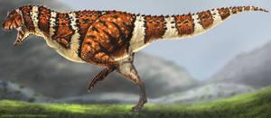 Carnotaurus Restored by TheDragonofDoom