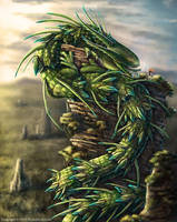 Emperor Dragon by TheDragonofDoom