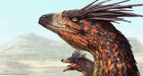 Dakotaraptor by TheDragonofDoom