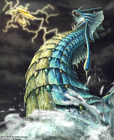 Gyarados 2016 by TheDragonofDoom