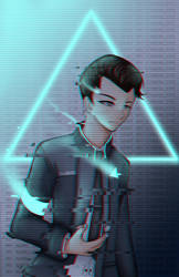 Detroit Become Human: Connor by kittymochi