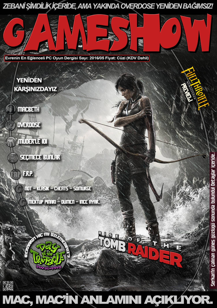 GameShow Magazine Fan-Made Cover by Full-Grim