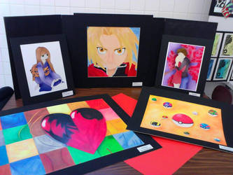 Art Showcase by bluemoonnika