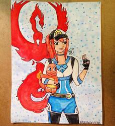 Pokemon Go  by bluemoonnika