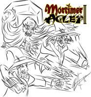 Mortimer Aglet 2  Cover Concept Art 2 by MortimerAglet