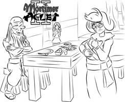 Let's eat some breakfast! by MortimerAglet
