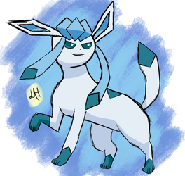 glaceon by luminizee