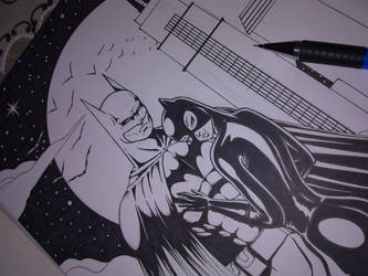 Bat wip by ivanzar82
