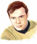 Captain Kirk by LauraMel