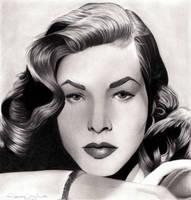 Lauren Bacall by LauraMel