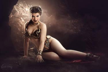 Slave Leia II by la-esmeralda