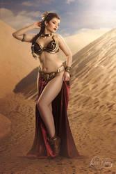 Slave Leia III by la-esmeralda