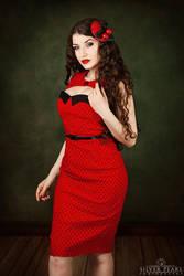 Retro Red II by la-esmeralda