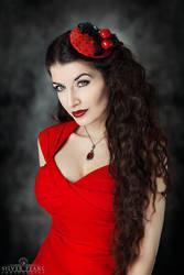 Cherry Red by la-esmeralda