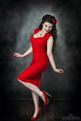 Cherry Red II by la-esmeralda