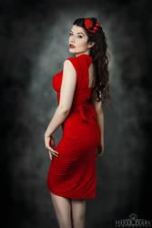 Cherry Red III by la-esmeralda
