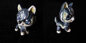 Link: The Blue-Eyed Beast LPS Custom OOAK by littlest-customs