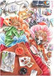 Twins-Vocaloid2 RinLen by ayasemn