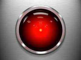 HAL 9000 eye by JyriK