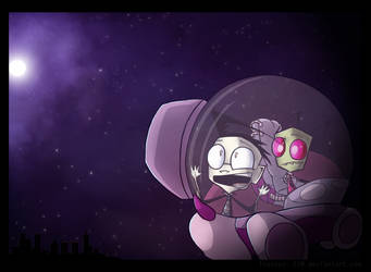 Oooo Purdy by Invader--ZIM