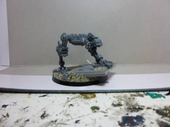 Imperial Guard Sentinel WIP by Jeffburjr