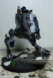 Imperial Guard Armoured Sentinal by Jeffburjr