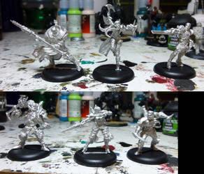 Kickstarter Jouneymen Warcasters by Jeffburjr