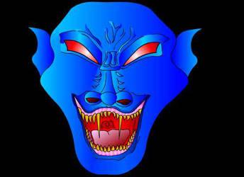 Blu Dragon by miticoloren