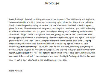 Prolouge by Sass41