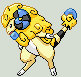 Fakemon: Flaaffy alternate evo by Sindorman