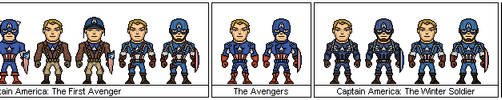Captain America - Marvel Cinematic Universe by Sleeping-Demons