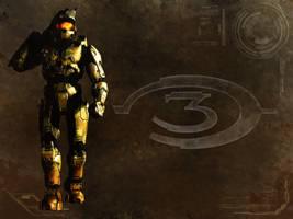 Halo 3 Wallpaper by xCUB4N