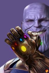 [POSTER] - Thanos Keenbeetal by KeenbeetalART