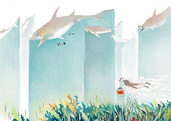 lalage and hammerheads by hhhwei