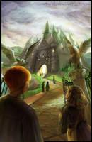 HP Tarot - 5. The Hierophant by Nendil