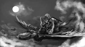Over the Sky -in progress- by Nendil