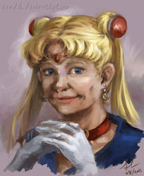 Portrait - Sailor Moon by Nendil