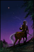 HP Tarot - 9. The Hermit by Nendil