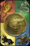 HP Tarot - 10. Wheel of Fortune by Nendil